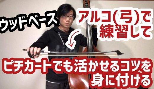 ウッドベース奏者諸君!! 〜さあ、弓を使って練習しよう!